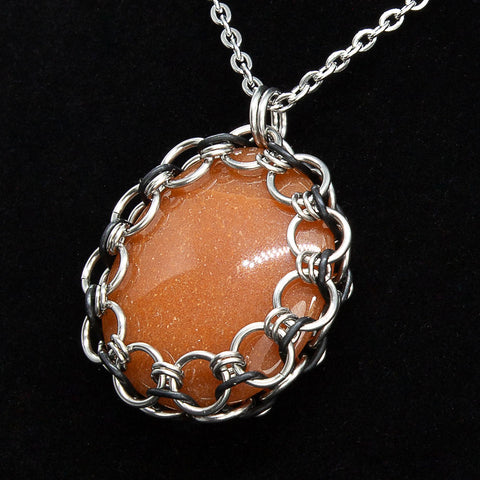 Captured Red Calcite