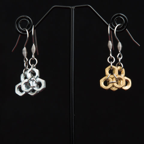 Honeycomb Hex Earrings