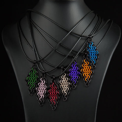 E4-1 Diamond Necklaces