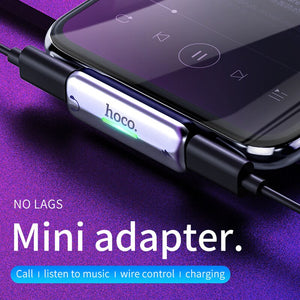 2-in-1 Audio Cable Fast Charging Audio Converter