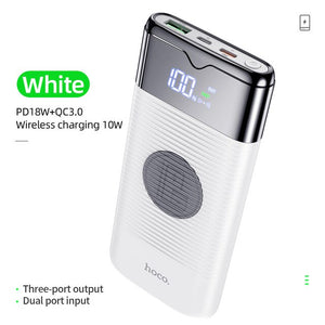 Power Bank 10000mAh Wireless Charger Power bank