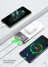 Load image into Gallery viewer, Power Bank 10000mAh Wireless Charger Power bank