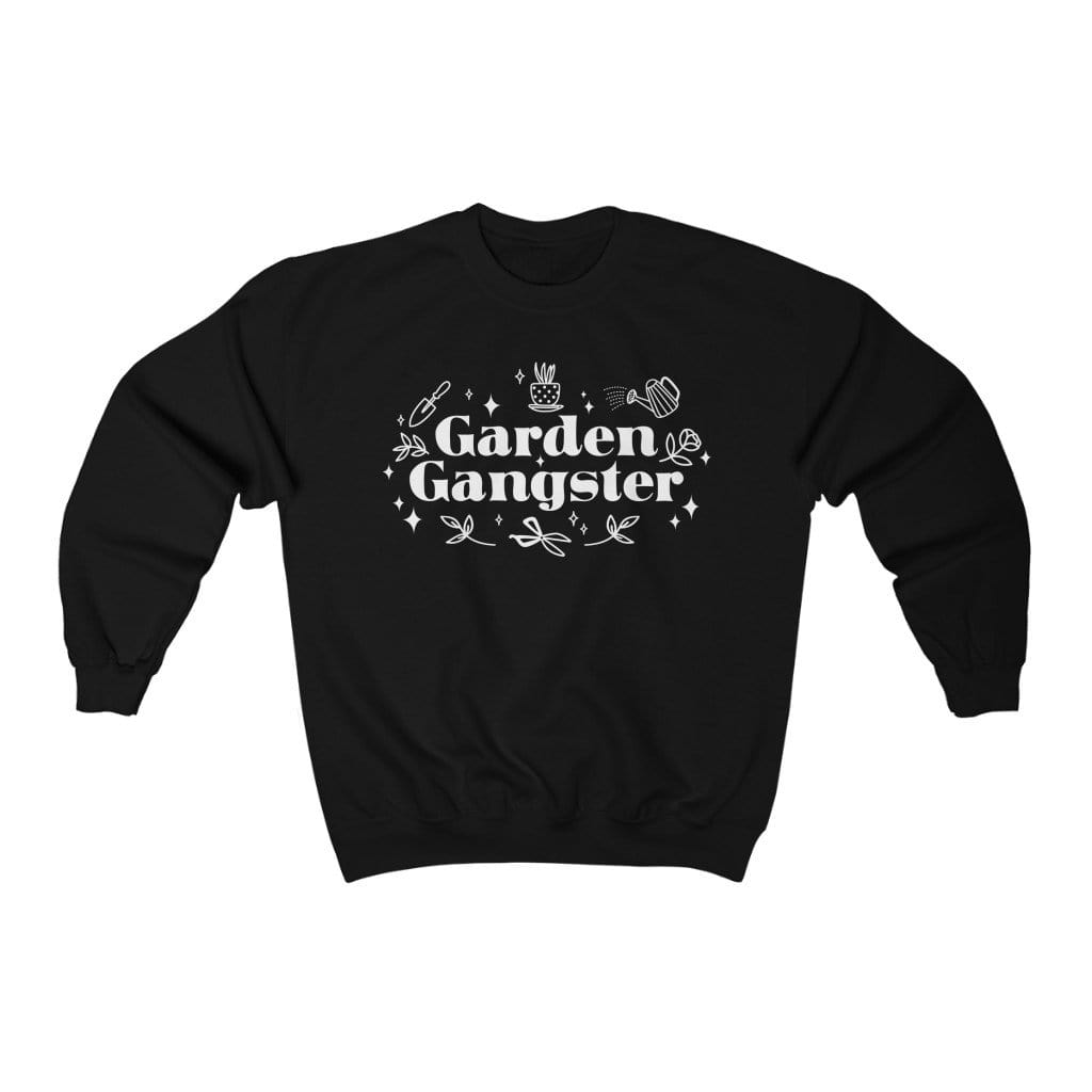 Sweatshirt L / Black Garden Gangster - Sweatshirt Plantspree