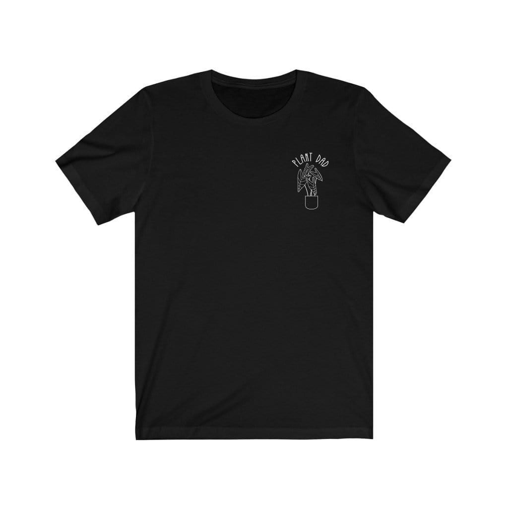T-Shirt Black / L Plant Dad (Pocket) - Tee Plantspree