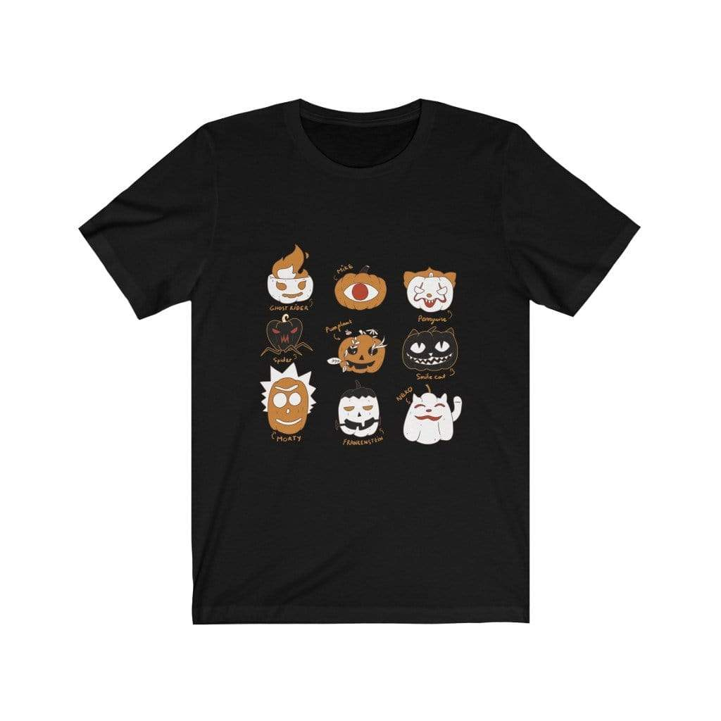 T-Shirt Black / L Pumpkin (Character Version) - Tee Plantspree
