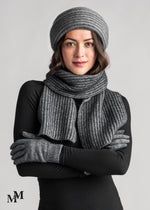 Load image into Gallery viewer, FINE RIB SCARF - Woolshed Gallery