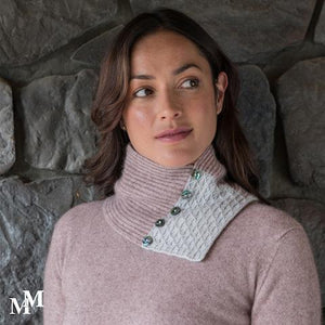LACE NECK WARMER - Woolshed Gallery