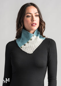 LACE NECK WARMER