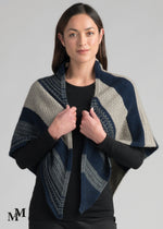 Load image into Gallery viewer, RIVER SHAWL SCARF - Woolshed Gallery