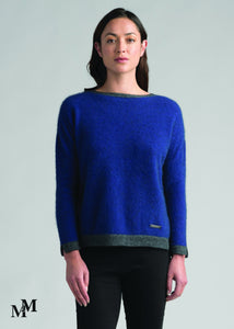 CONTRAST TUNIC (limited stock) - Woolshed Gallery
