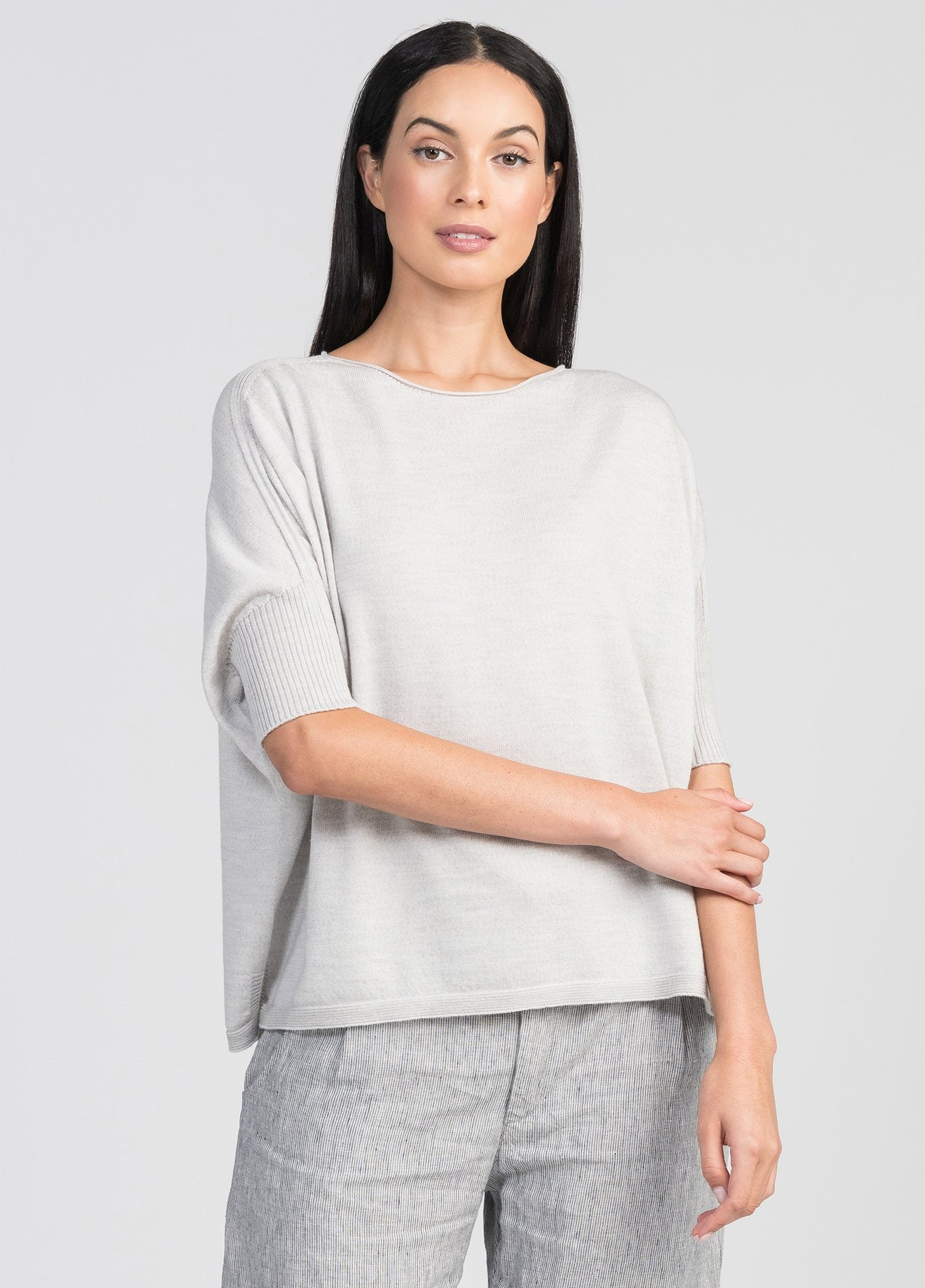 EASY KNIT TEE - Woolshed Gallery
