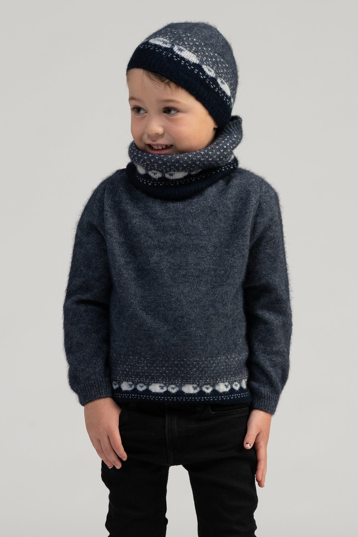 KID'S SHEEP SWEATER - Woolshed Gallery