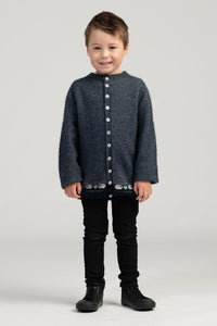 KID'S SHEEP CARDI - Woolshed Gallery