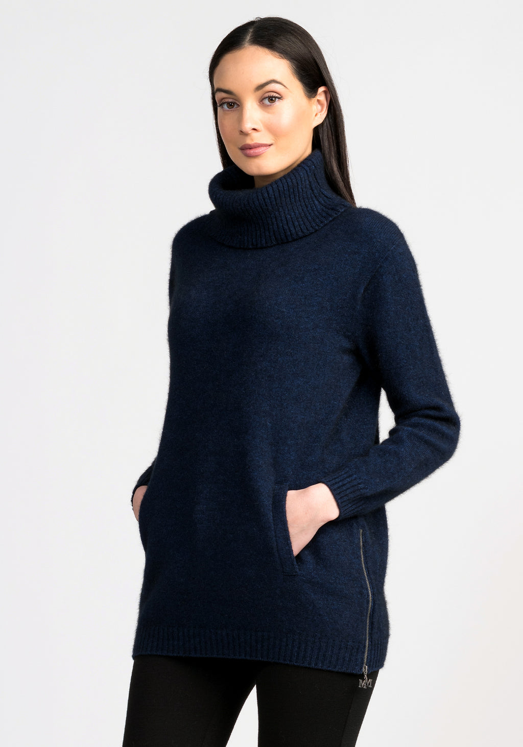 ZIP TUNIC SWEATER - Woolshed Gallery
