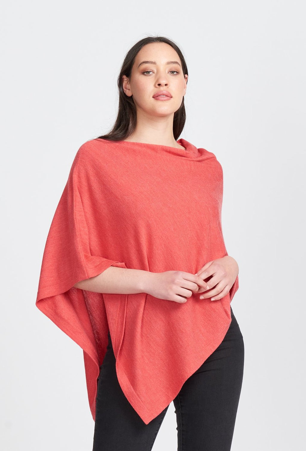 ASYMMETRIC PONCHO - Woolshed Gallery