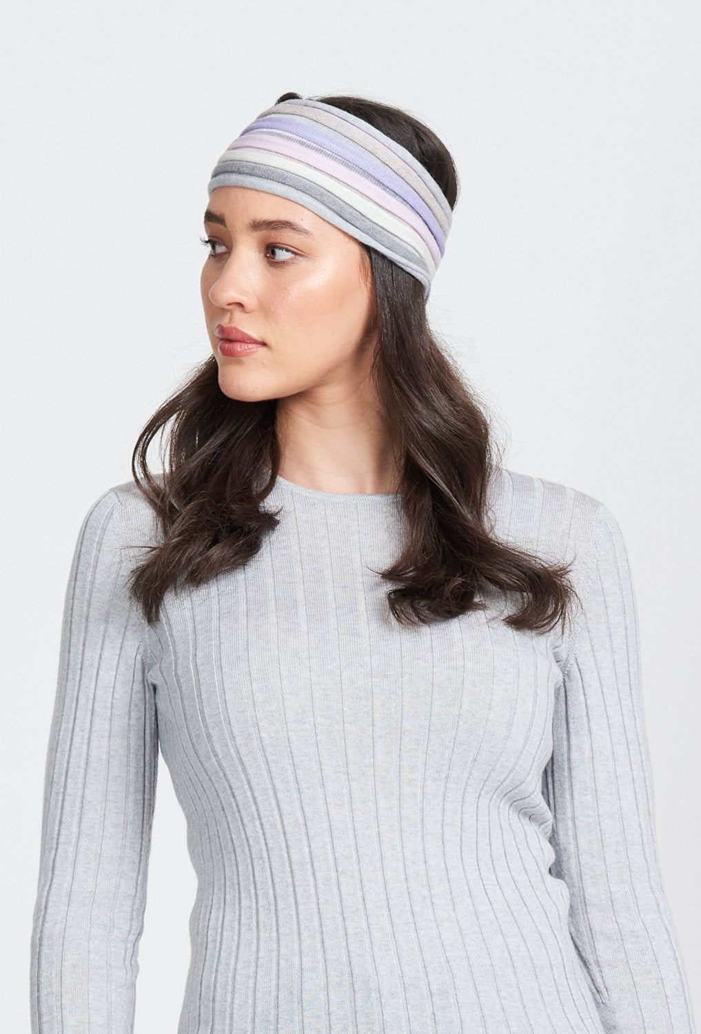 MULTI STRIPE HEADBAND - Woolshed Gallery