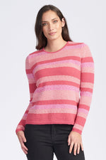 Load image into Gallery viewer, L/S CREW NECK JACQUARD JUMPER - Woolshed Gallery