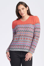 Load image into Gallery viewer, FAIRISLE JUMPER - Woolshed Gallery