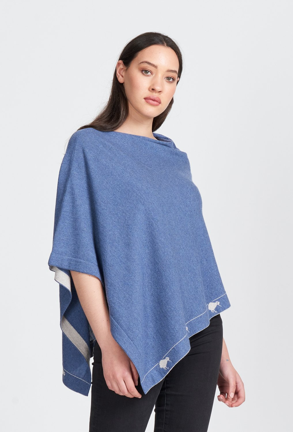 KIWI PONCHO - Woolshed Gallery