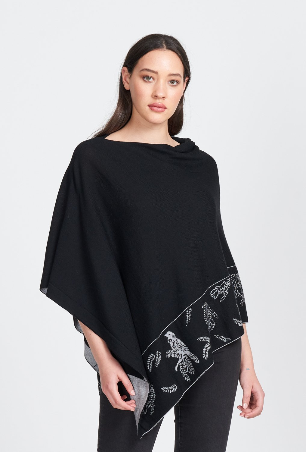 TUI PONCHO - Woolshed Gallery