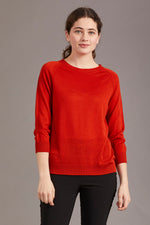 Load image into Gallery viewer, MERINO 3/4 SLEEVE CREW