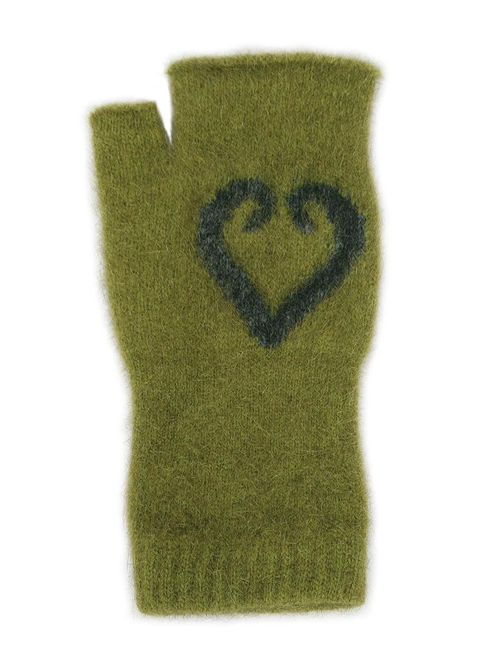AROHA FINGERLESS MITTENS - Woolshed Gallery