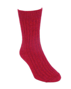 CASUAL RIB SOCK - Woolshed Gallery