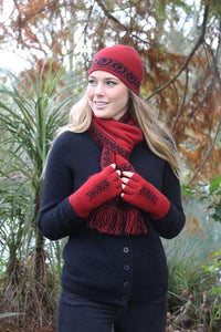 KORU FINGERLESS GLOVE - Woolshed Gallery