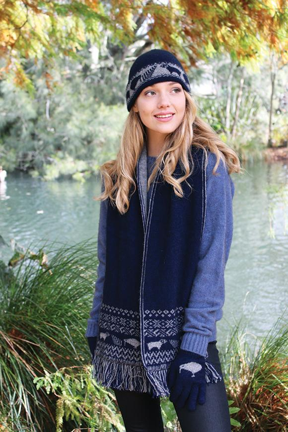 KIWI ICON BEANIE - Woolshed Gallery