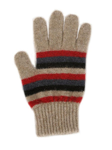 MULTI STRIPED GLOVE - Woolshed Gallery