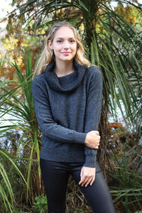 COWL NECK JUMPER - Woolshed Gallery