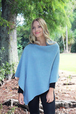 Load image into Gallery viewer, ALPACA RIB PONCHO - Woolshed Gallery
