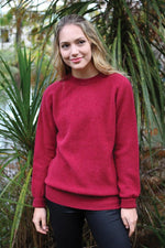 Load image into Gallery viewer, ALPACA PLAIN CREW NECK JUMPER