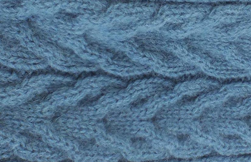 ALPACA CABLE SCARF - Woolshed Gallery