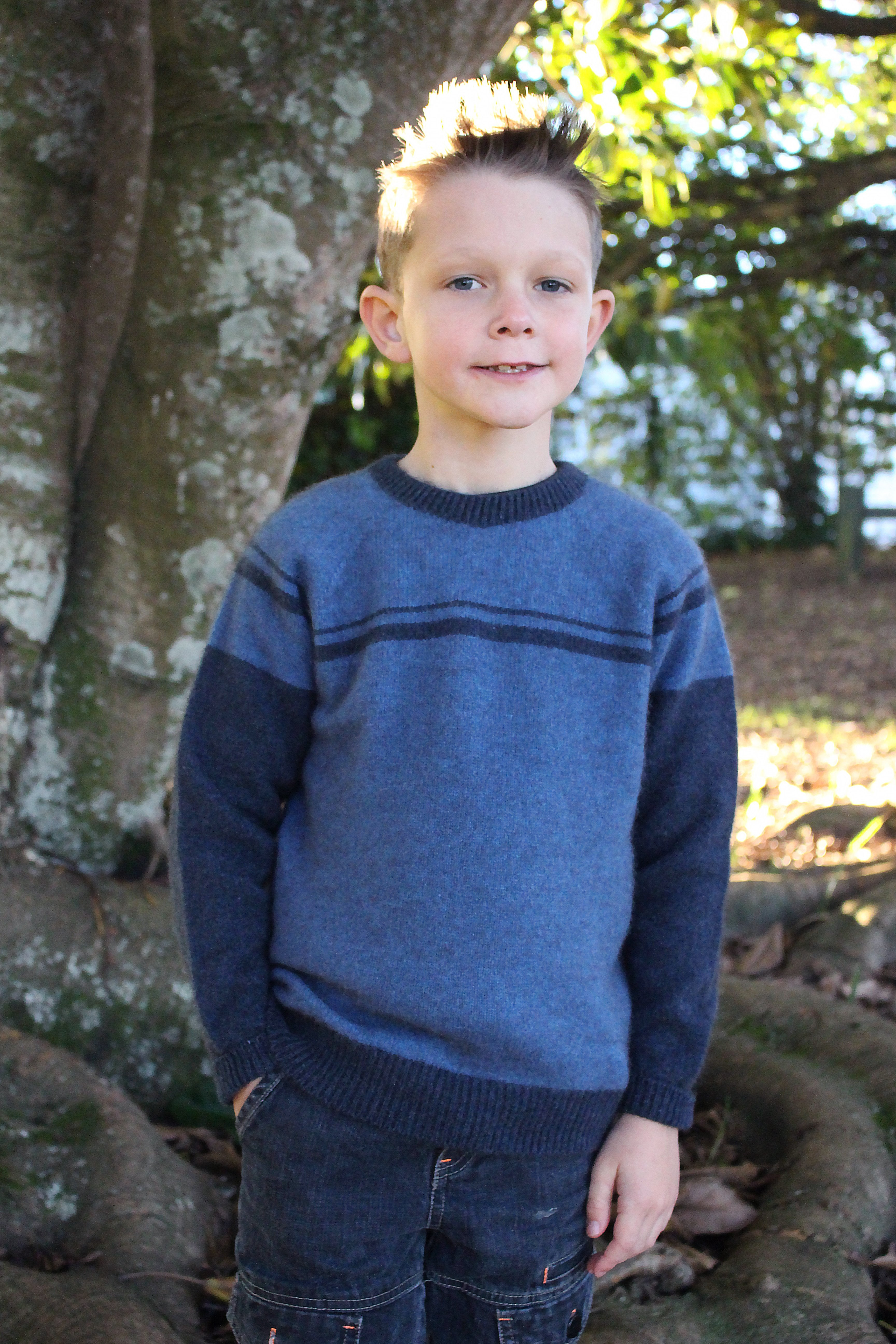 BOY'S STRIPED JUMPER - Woolshed Gallery