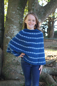 GIRL'S PONCHO - Woolshed Gallery
