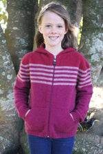 Load image into Gallery viewer, STRIPED HOODIE - Woolshed Gallery