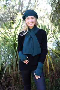 DASH KEYHOLE SCARF - Woolshed Gallery