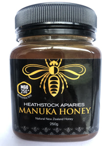 MANUKA HONEY 250grams MGO 250+ - Woolshed Gallery