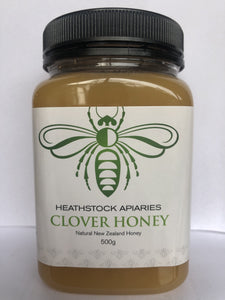 CLOVER HONEY 500grams - Woolshed Gallery
