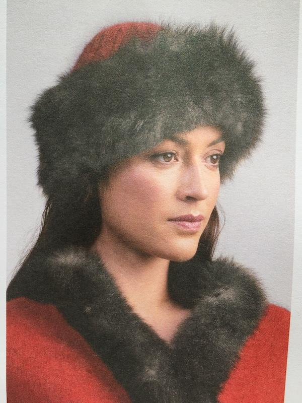 FUR TRIM HAT SNOWTIP - Woolshed Gallery