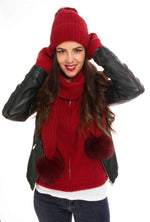 Load image into Gallery viewer, FUR POM POM BEANIE - Woolshed Gallery