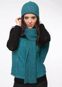 RIBBED BEANIE - Woolshed Gallery