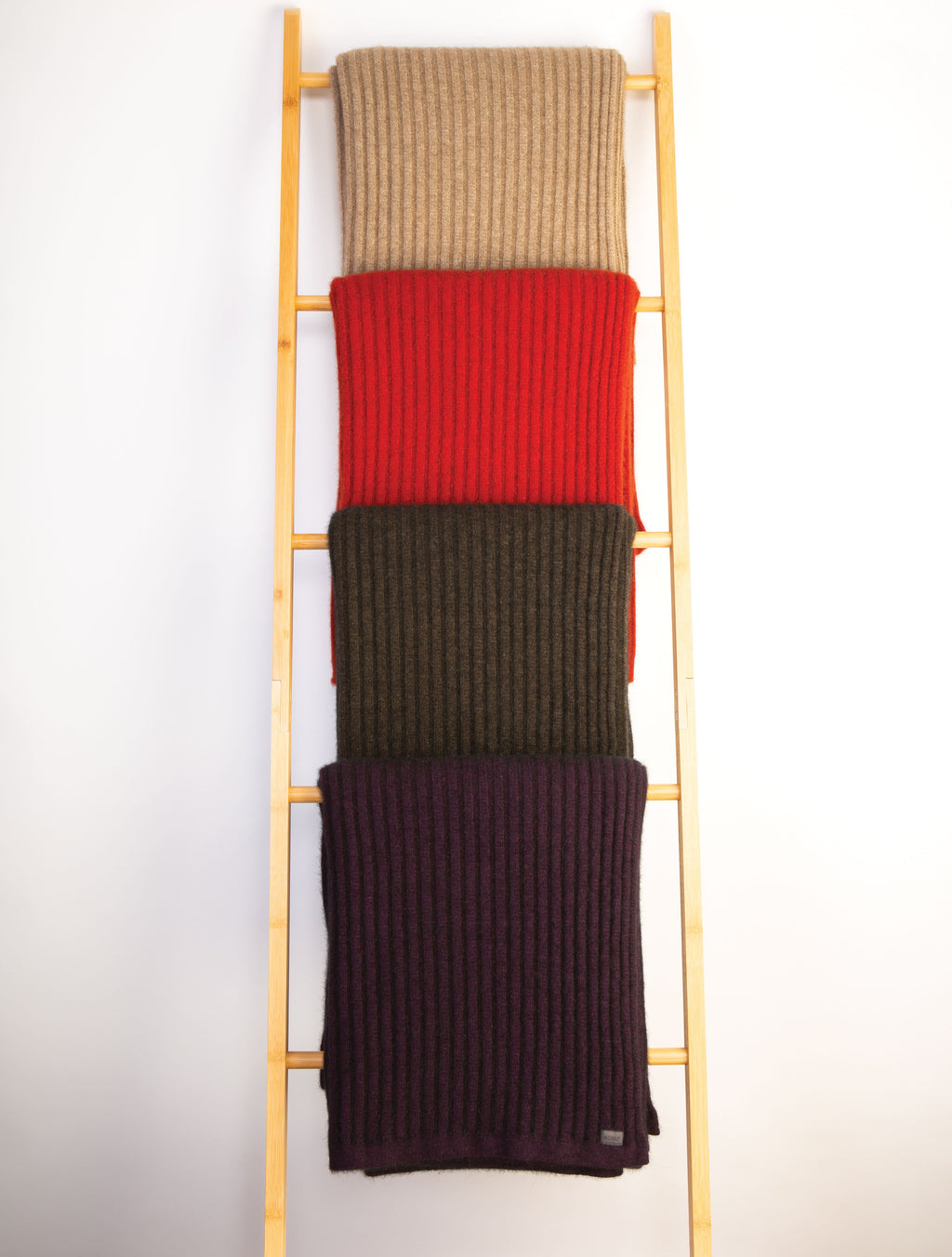 RIBBED THROW - Woolshed Gallery