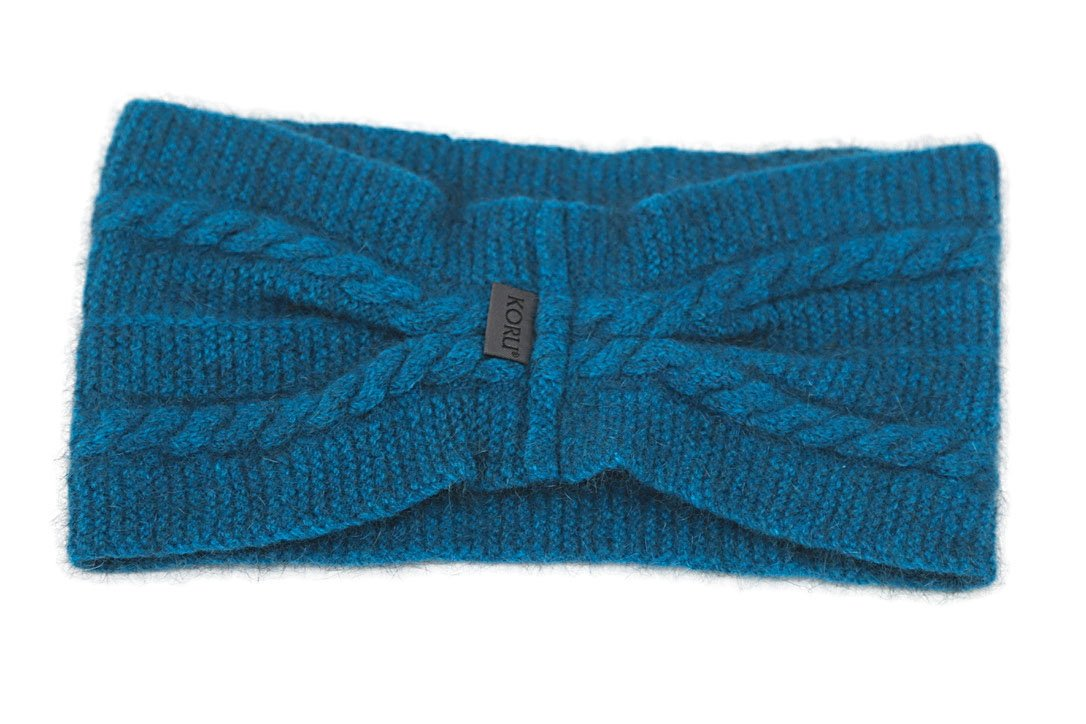 CABLE HEADBAND - Woolshed Gallery