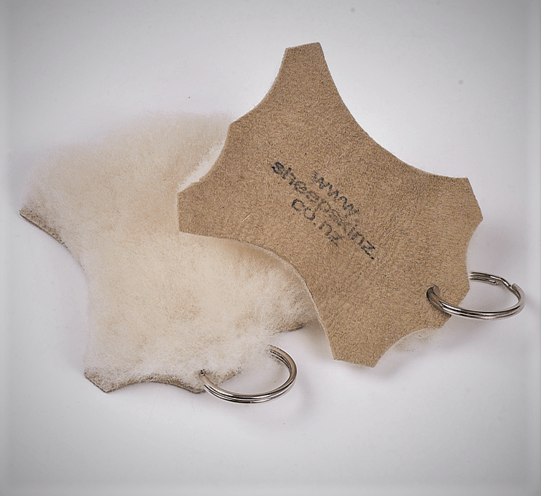 SHEEPSKIN KEY RING - Woolshed Gallery