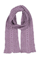 Load image into Gallery viewer, CABLE SCARF - Woolshed Gallery