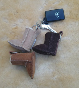 MICRO UGG KEY RING - Woolshed Gallery