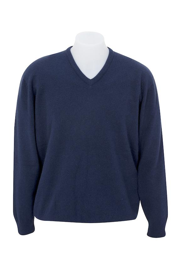 VEE NECK SWEATER - Woolshed Gallery