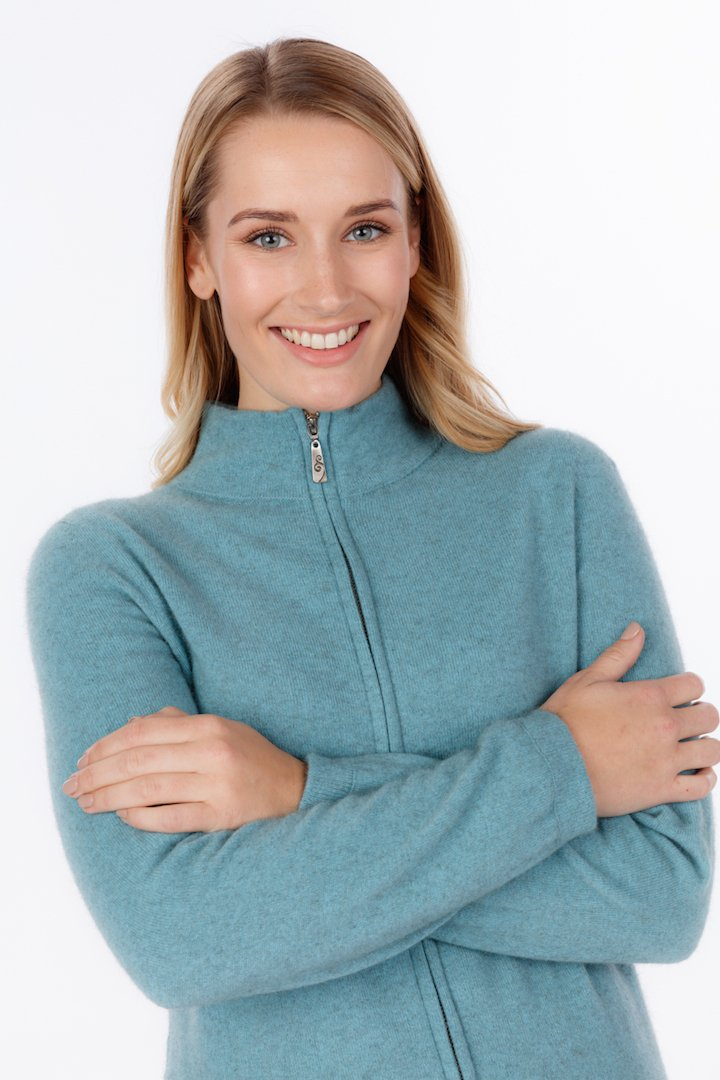 FULL ZIP JACKET - Woolshed Gallery